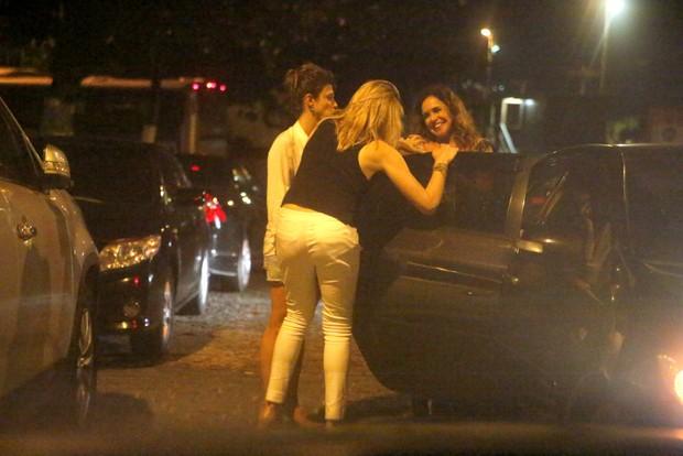 Priscila Montandon, Fernanda Gentil e Daniela Mercury (Foto: FOTOS AGNEWS/AGNEWS)