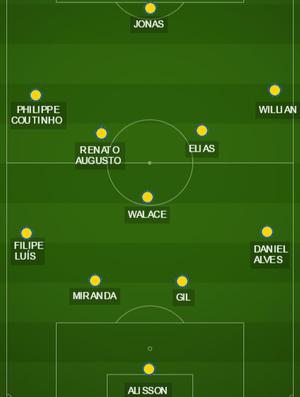 campinho Brasil Seleção (Foto: GloboEsporte.com)