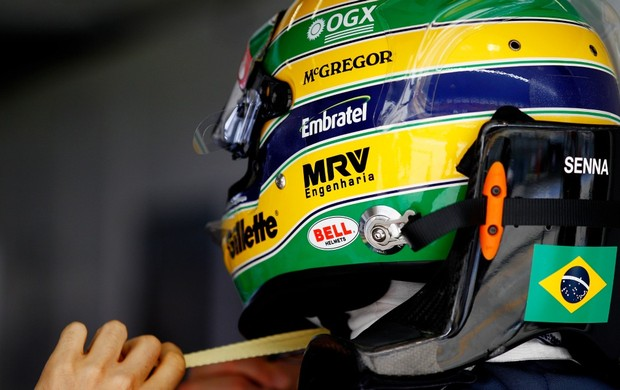 Bruno Senna treino gp da china (Foto: Getty Images)
