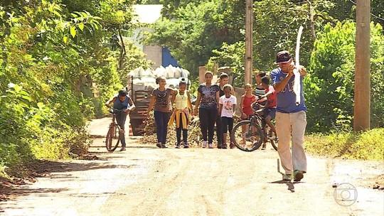 Projeto Cidadania e Movimento leva esportes para jovens da zona rural