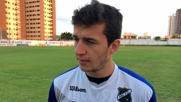 Ronaldo Mendes - meia do ABC (Foto: Jocaff Souza/GloboEsporte.com)