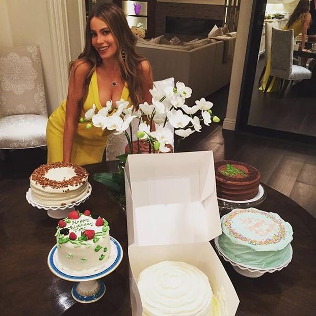 Sofia Vergara comemora aniversário (Foto: Instagram/ Reprodução)