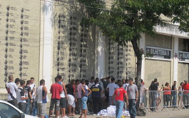 vasco Fila ingressos São Januário (Foto: Fred Huber)