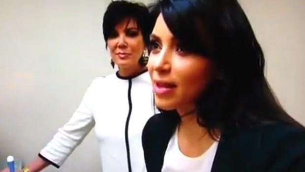 Kim Kardashian (Foto: Video/Reprodução)