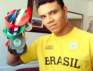 William Ribeiro atleta (Foto: Arquivo pessoal)
