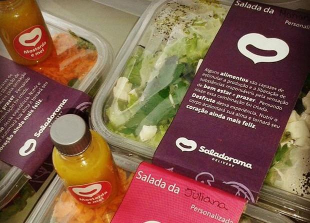 Salada do Saladorama (Foto: Divulgação)