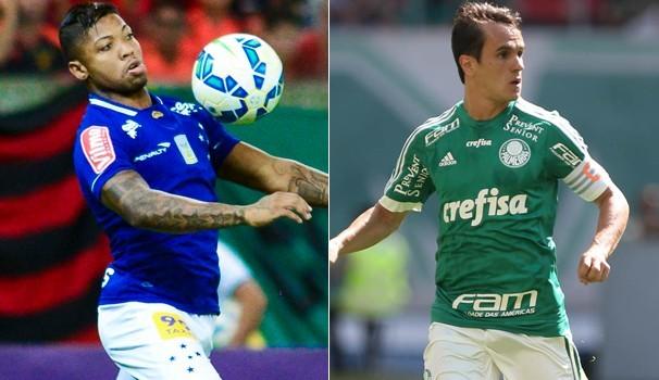 Palmeiras x Cruzeiro (Foto: Globo)