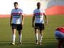Juntos pela 1ª vez na zaga, Mancini e Filipe são elogiados por Fernandes