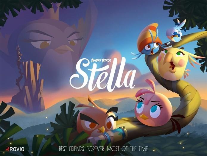 Angry Birds Stella trará uma história focada na amizade (Foto: VG247)