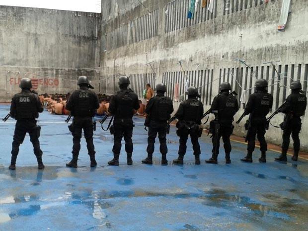 Presídio de Parnamirim (Foto: Divulgação/Polícia Militar do RN)