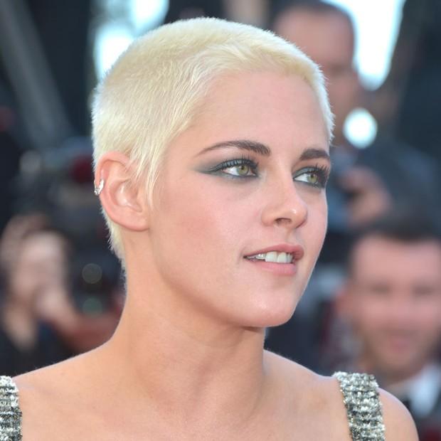 Beleza de Kristen Stweart em Cannes  (Foto: Getty Images)