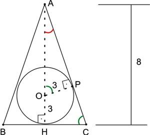 Figura do triângulo (Foto: Colégio Qi)