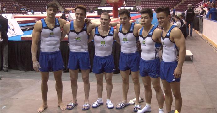 Brasil fica com o bronze por equipes masculinas no Pré-Pan (Foto: Reprodução/Twitter)