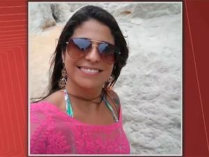 Professora Sandra Denise Costa Alfonso foi morta pelo marido em escola de Salvador (Foto: Reprodução/TV Bahia)