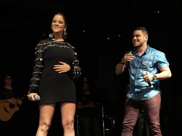Maria Cecília e Rodolfo em show em São Paulo (Foto: Francisco Cepeda/ Ag. News)