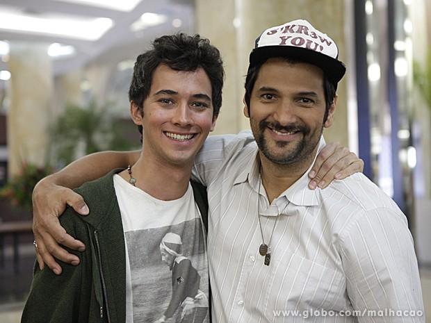 Gil Hernandez é o padrastro do personagem Ben em Malhação (Foto: Malhação / TV Globo)