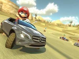 'Mario Kart 8' terá carro da Mercedes-Benz (Foto: Divulgação/Nintendo)