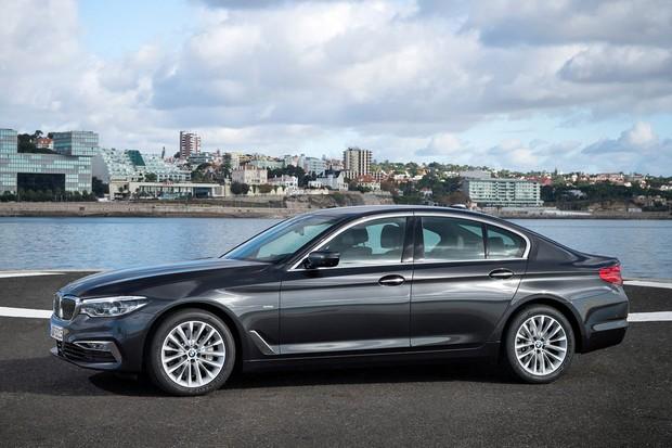BMW Série 5 2017 (Foto: Divulgação)