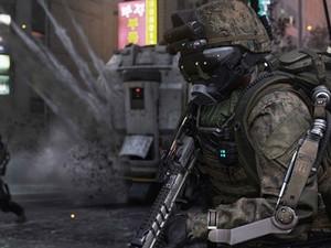 Soldados de 'Advanced Warfare' usam exoesqueletos e possuem superhabilidades (Foto: Divulgação/Activision)