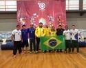 Seleção retorna do Sul-americano de luta com 17 medalhas na bagagem