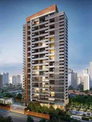 Apartamentos que serão construídos no local onde desabou estande de vendas na Vila Olímpia (Foto: Reprodução Cyrela)