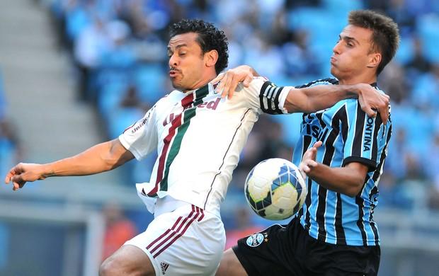 Fred jogo Grêmio x Fluminense (Foto: Photocamera)