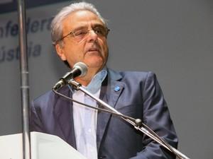 Robson Braga de Andrade na abertura da Olimpíada do Conhecimento (Foto: Thiago Rios Gomes)