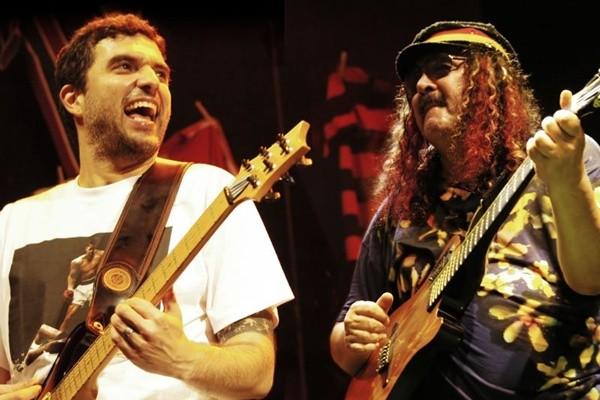 Moraes e Davi Moreira celebram os 40 anos do álbum 'Acabou Chorare', dia 6 de dezembro, em São Luís (Foto: Divulgação/Assessoria)