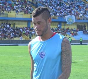 Betinho, autor de um dos gols do Paysandu (Foto: Dominique Cavaleiro/ GloboEsporte.com)