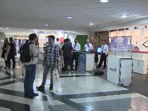 Feira de Tecnologia mostra inovações de empresas de São José  (Foto: Reprodução/ TV Vanguarda)