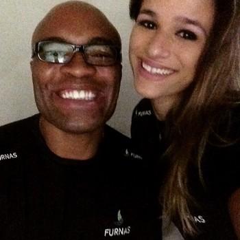 Anderson Silva e Jade Barbosa (Foto: Reprodução Instagram)