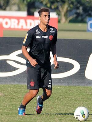 Welinton, treino do Flamengo (Foto: Alexandre Vidal / Fla Imagem)
