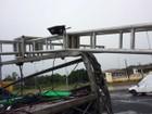 Tempestade destrói palco montado para shows no interior de São Paulo