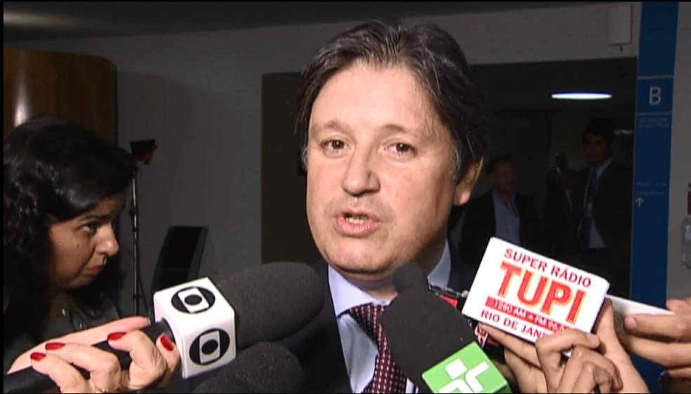 O ex-deputado Rodrigo Rocha Loures, ex-assessor do presidente Michel Temer (Foto: Reprodução/TV Globo)