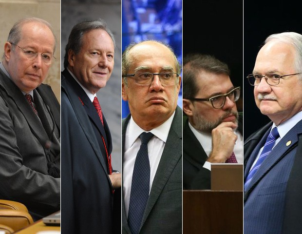 Ministros do supremo (Foto: Agência Brasil/Divulgação)