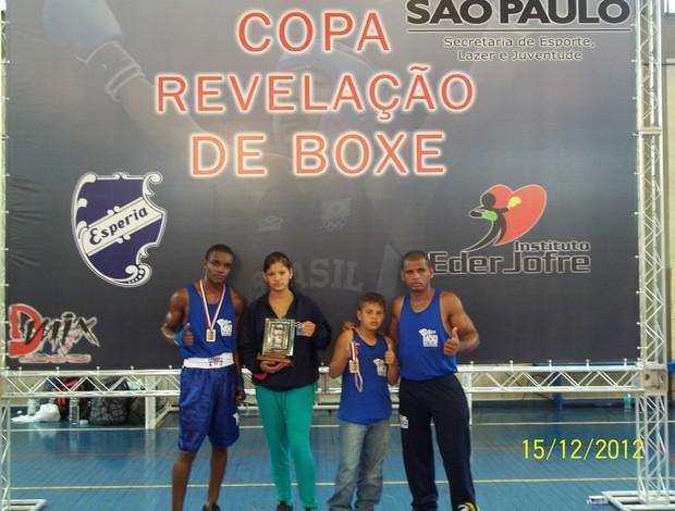 durães no boxe (Foto: Divulgação)