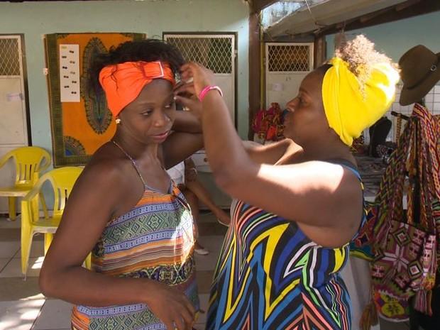 O Encontro das Pretas reuniu mulheres negras capixabas (Foto: Reprodução/ TV Gazeta)