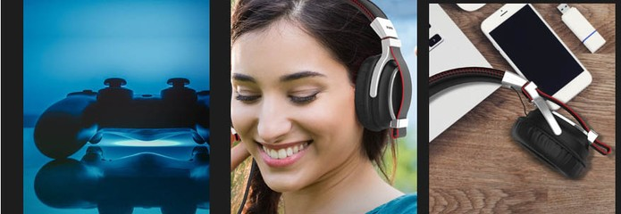 Fone de ouvido Bravo tem som mais nítido para músicas, filmes e games (Foto: Divulgação/Sharkk)
