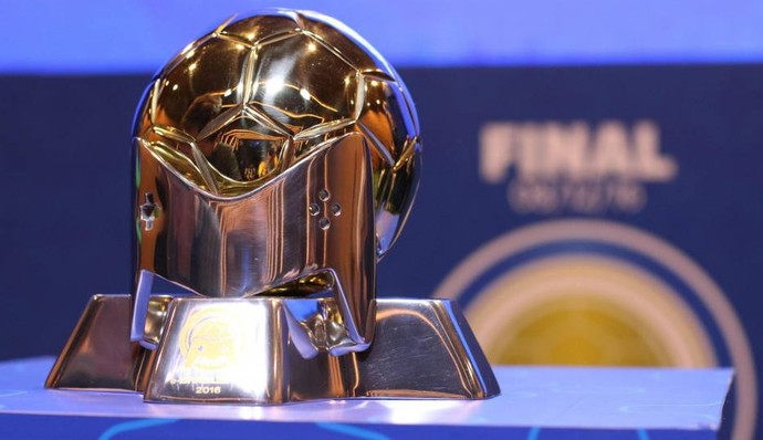 e-Brasileirão troféu (Foto: Kin Saito / CBF)