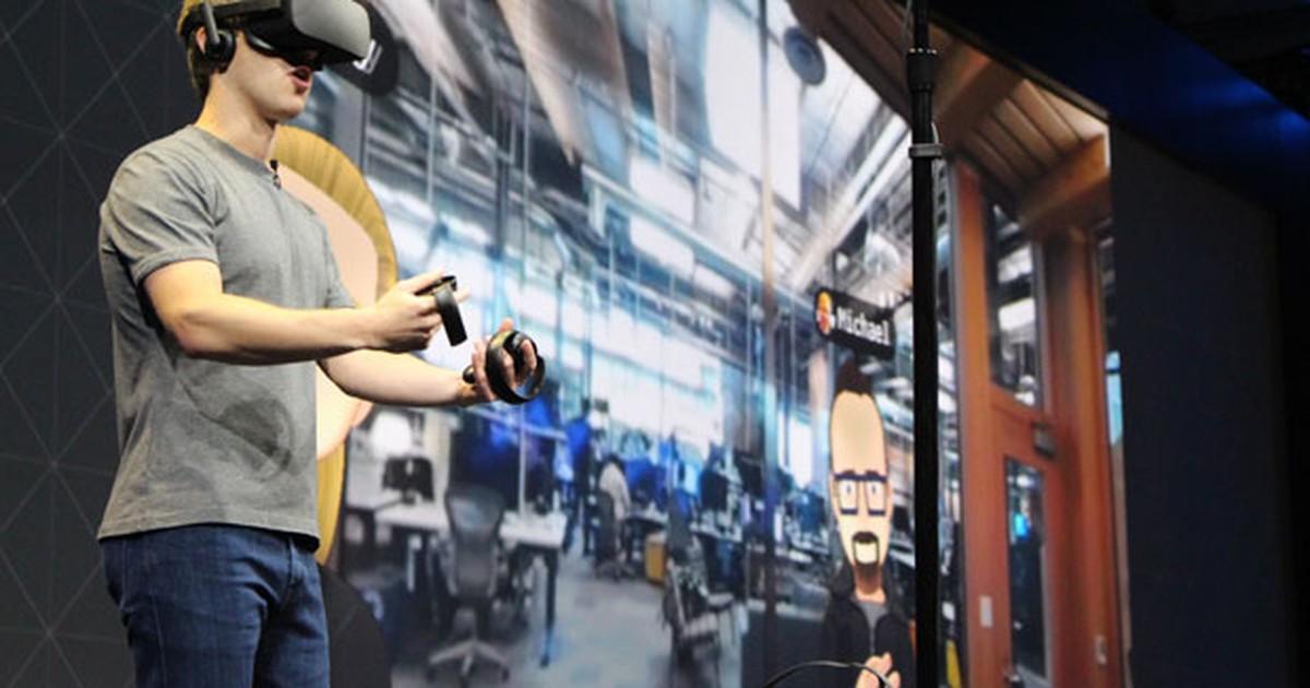 cc0b2a34e G1 - Facebook reforça realidade virtual com acessórios para Oculus Rift -  notícias em Tecnologia e Games