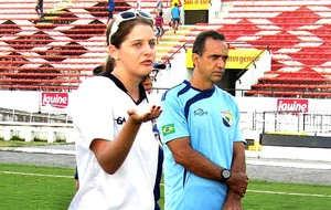 Bárbara Gayo psicóloga FPF (Foto: Marlon Costa / FPF)
