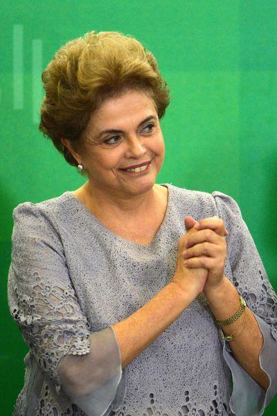 Presidente Dilma Rousseff participa de Encontro com Juristas pela Legalidade e em Defesa da Democracia no Palácio do Planalto (Foto: JOSE CRUZ AGENCIA BRASIL)
