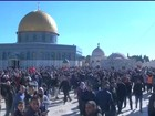 Palestino morre e 80 são feridos em protestos na região de Jerusalém