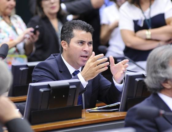 Deputado Marcos Rogério (PDT-RO) será o novo relator do parecer contra Eduardo Cunha (Foto: Lucio Bernardo Junior / Câmara dos Deputados)
