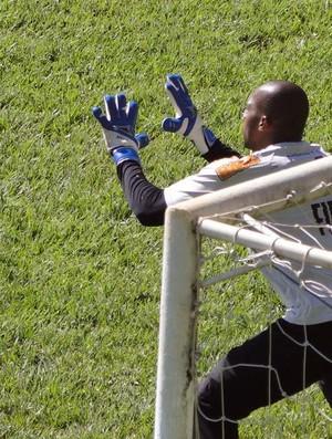 Goleiro Neneca, do América-MG (Foto: Ana Paula Moreira / Globoesporte.com)