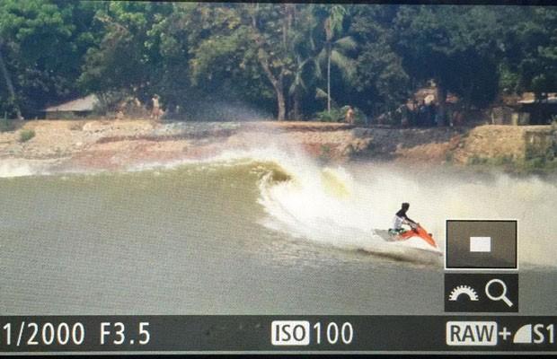 Globo Esporte vai mostrar os caçadores de ondas na Ìndia (Foto: Reprodução/Redes Sociais)