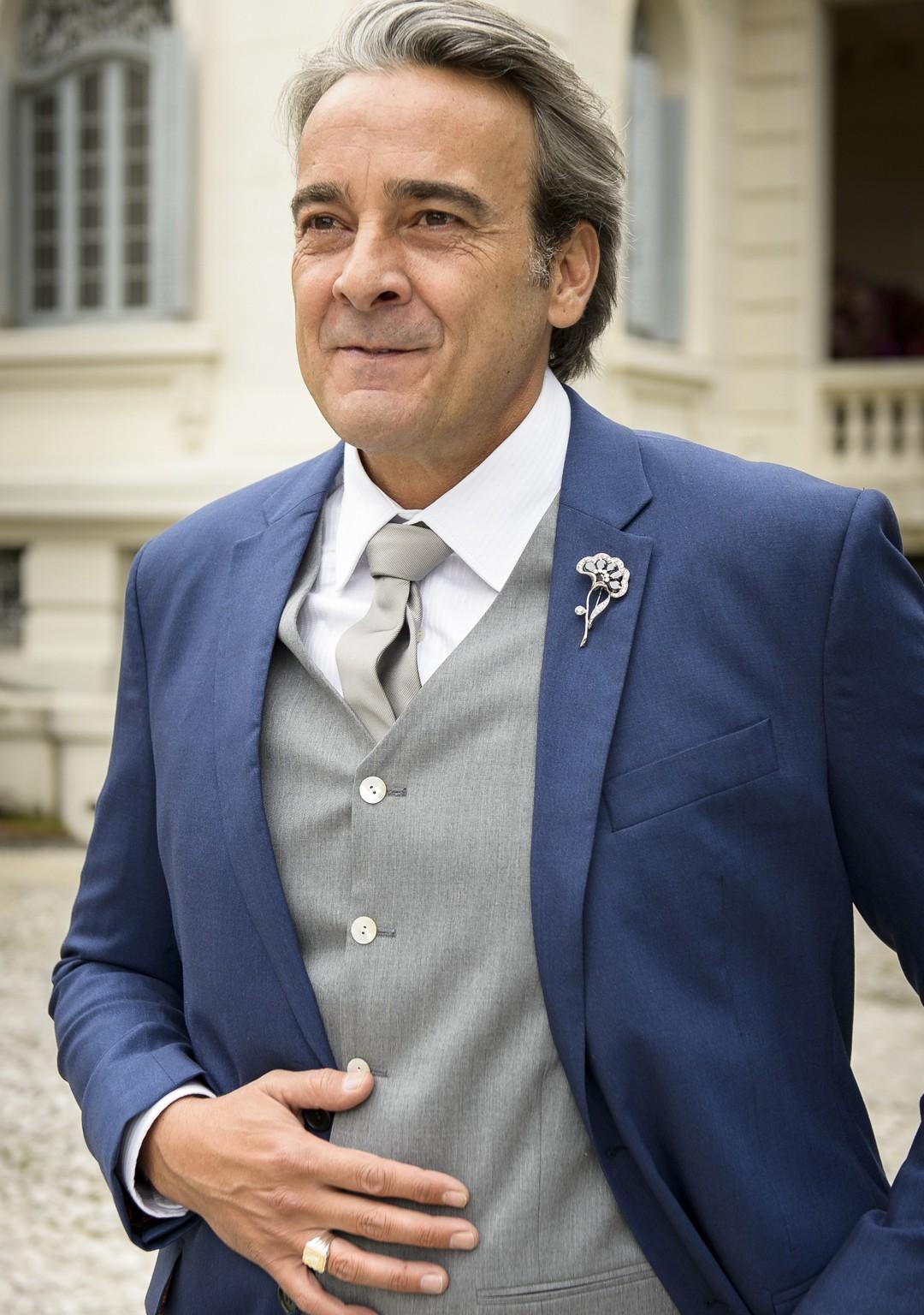 Alexandre Borges volta às telinhas da TV Tribuna (Foto: Ramón Vasconcelos)