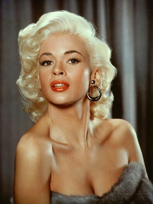 A atriz Jane Mansfield (Foto: Kobal/The Picture Desk/AFP/Arquivo)