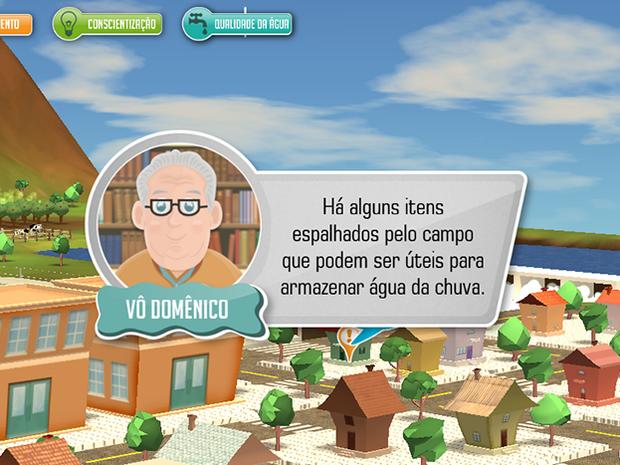 Personagem dá orientações sobre uso consciente dos recursos hídricos (Foto: Divulgação/Fatec)