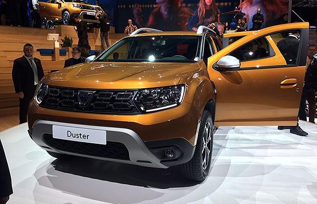 Novo Dacia Duster no Salão de Frankfurt 2017 (Foto: Tereza Consiglio/Autoesporte)